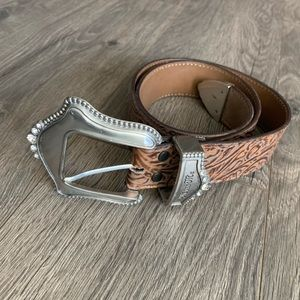 Miss Me Leather Belt